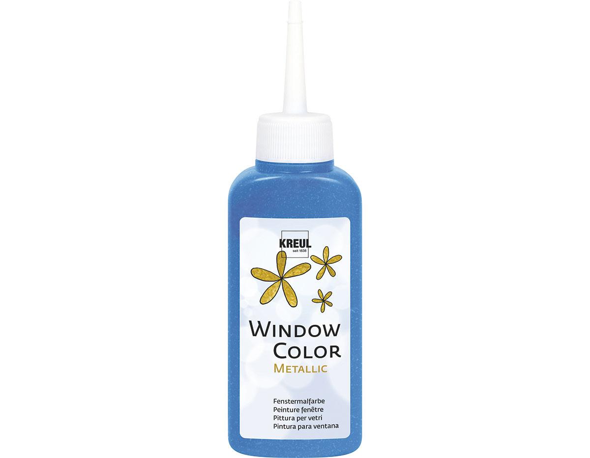 K42758 Pintura para ventana metalica WINDOW COLOR azul 80ml C Kreul