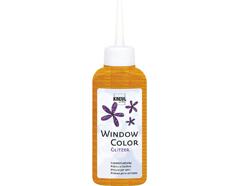 K42766 Pintura para ventana con purpurina WINDOW COLOR naranja C Kreul - Ítem