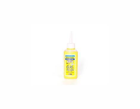 K42780 H LINE contorno GLAS DESIGN transparente amarillo 80 ml Hobby line