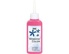 K42784 Pintura vidrio GLAS DESIGN fluorescente rosa Hobby line