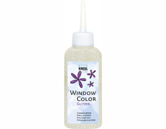 K42787 Pintura vidrio GLAS DESIGN purpurina orquidea Hobby line
