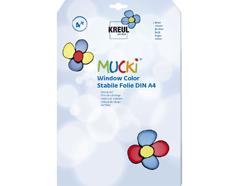 K42796 Hojas de plastico semi-transparentes DIN A4 3u Mucki