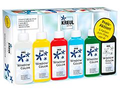 K42847 Kit pintura para ventana GLAS DESIGN Conjunto promocional Hobby line