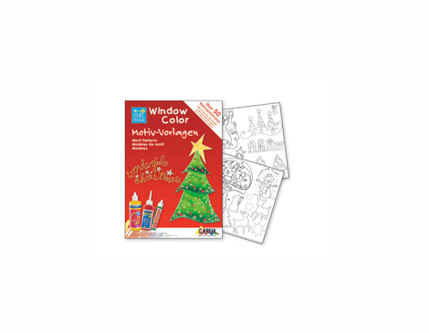 K42890 Hoja WINDOW COLOR Wonderful Christmas Hobby line