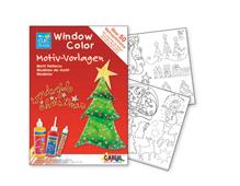 K42890 Hoja WINDOW COLOR Wonderful Christmas Hobby line - Ítem