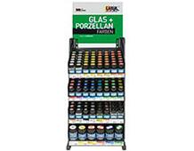 K452144 GAMA H LINE Laca para cristal 20 ml y 50 ml con 180 botes-Solo contenido Hobby line