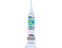 K4545SB Pintura vidrio para contornos gris Hobby line