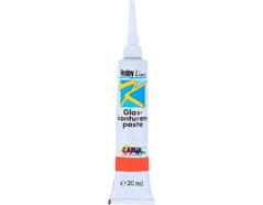 K4551SB Pintura vidrio para contornos rojo Hobby line
