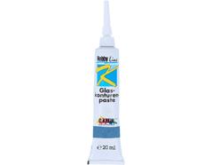 K4552SB Pintura vidrio para contornos azul Hobby line