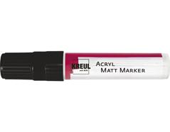 K46219 Rotulador acrilico MATT MARKER XXL negro C Kreul