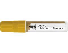 K46251 Rotulador acrilico METALLIC MARKER XXL oro C Kreul