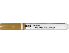 K46261 Rotulador acrilico METALLIC MARKER medium oro C Kreul
