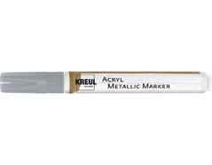 K46262 Rotulador acrilico METALLIC MARKER medium plata C Kreul