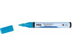 K47619 Rotulador permanente punta media azul claro C Kreul