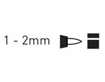 K47815 Rotulador permanente punta fina amarillo C Kreul - Ítem2