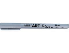 K47953 Rotulador escritura ART Pen punta fina plata C Kreul