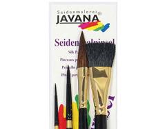 K48105 Set 4 pinceles surtidos para seda Javana