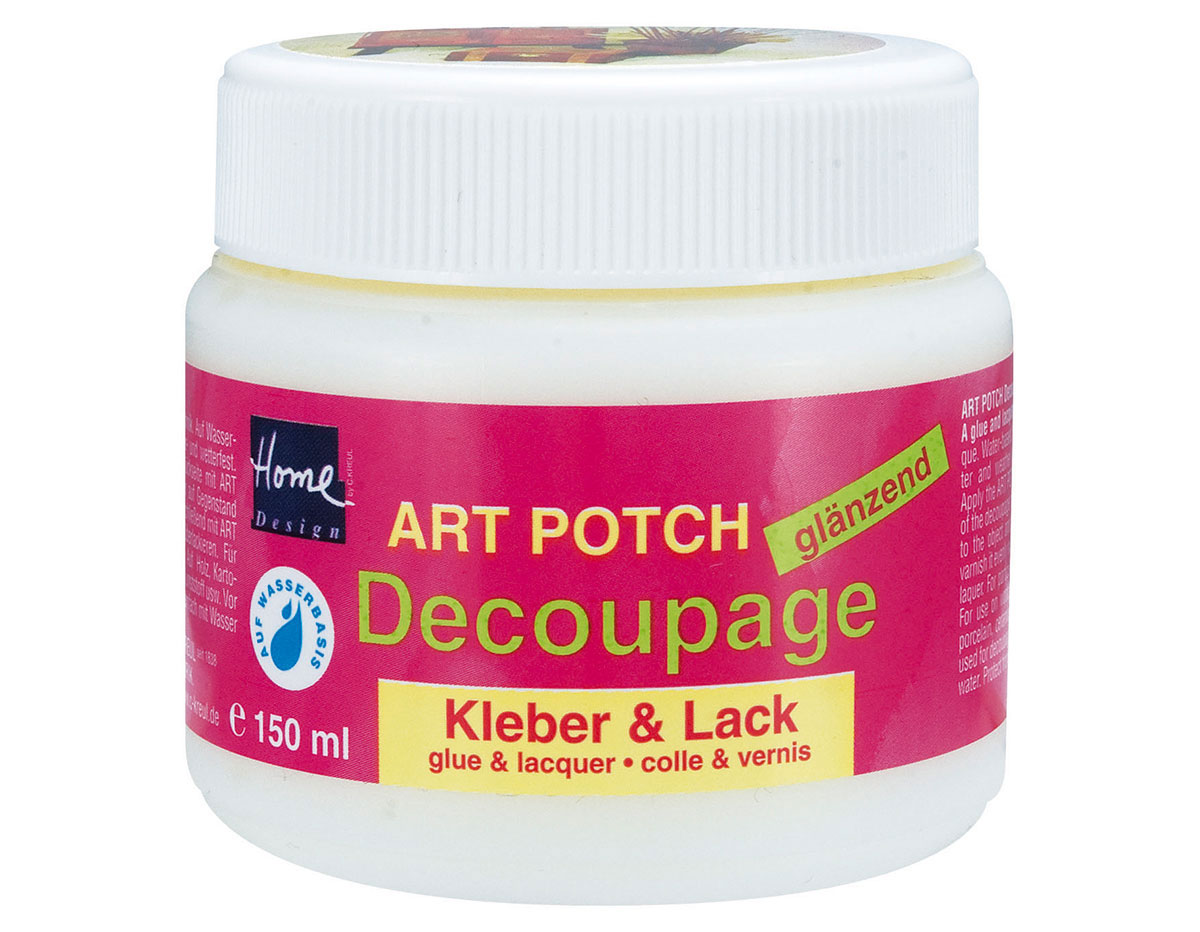 K48151 Cola-Laca ART POTCH para decoupage brillante Hobby line