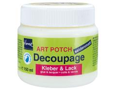 K48251 Cola-Laca ART POTCH para decoupage satinado Hobby line