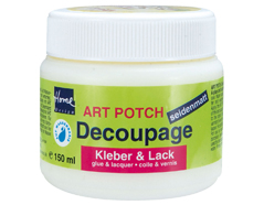 K48251 Cola-Laca ART POTCH para decoupage satinado Hobby line - Ítem