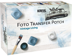 K49990 Set Foto Transfer Potch Vintage living Hobby line