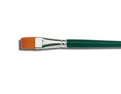 K721100 K721104 K721106 K721108 K721110 K721102 K721112 K721114 K721116 K721120 K721124 Pincel sintetico plano Basic Hobby line