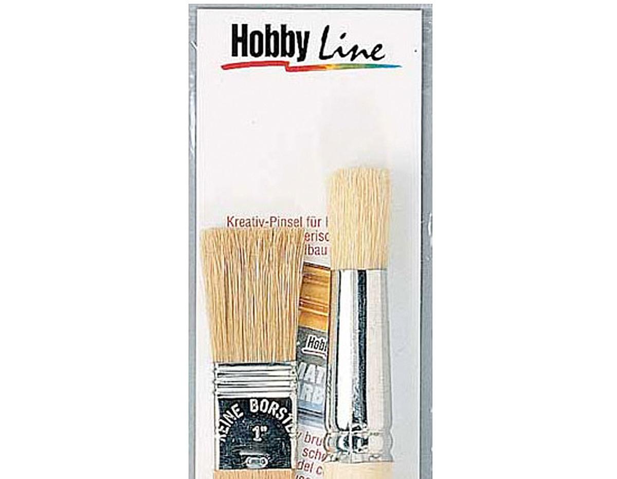 K723014 Set 2 pinceles para estarcir Hobby line