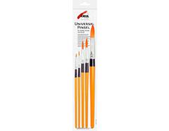 K723031 Set 5 pinceles sinteticos redondos Hobby line - Ítem