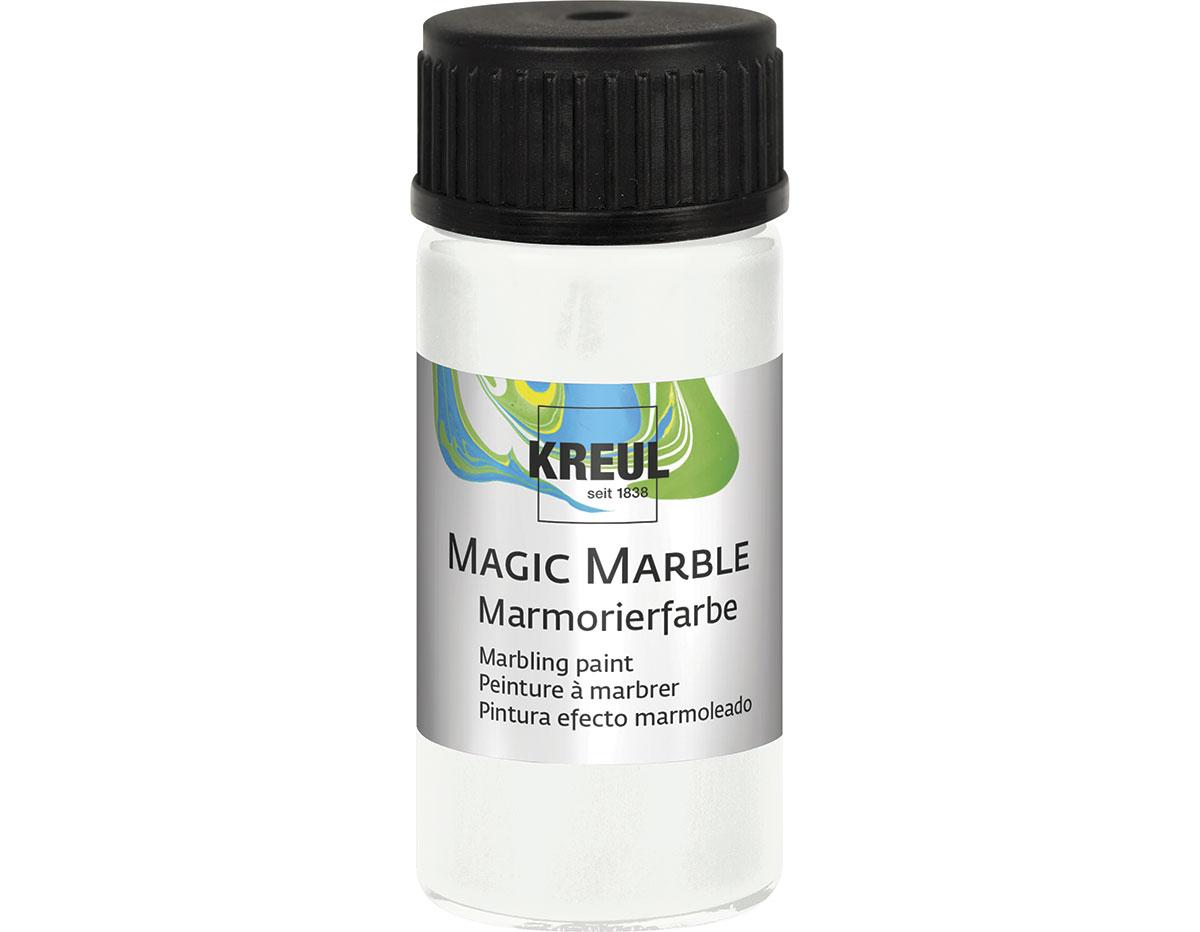 K73201 Pintura marmoleada MAGIC MARBLE blanco Hobby line