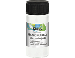 K73201 Pintura marmoleada MAGIC MARBLE blanco Hobby line
