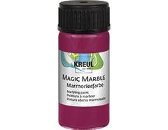 K73207 Pintura marmoleada MAGIC MARBLE rojo rubi Hobby line