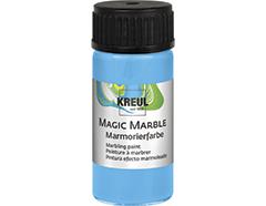 K73210 Pintura marmoleada MAGIC MARBLE azul claro Hobby line