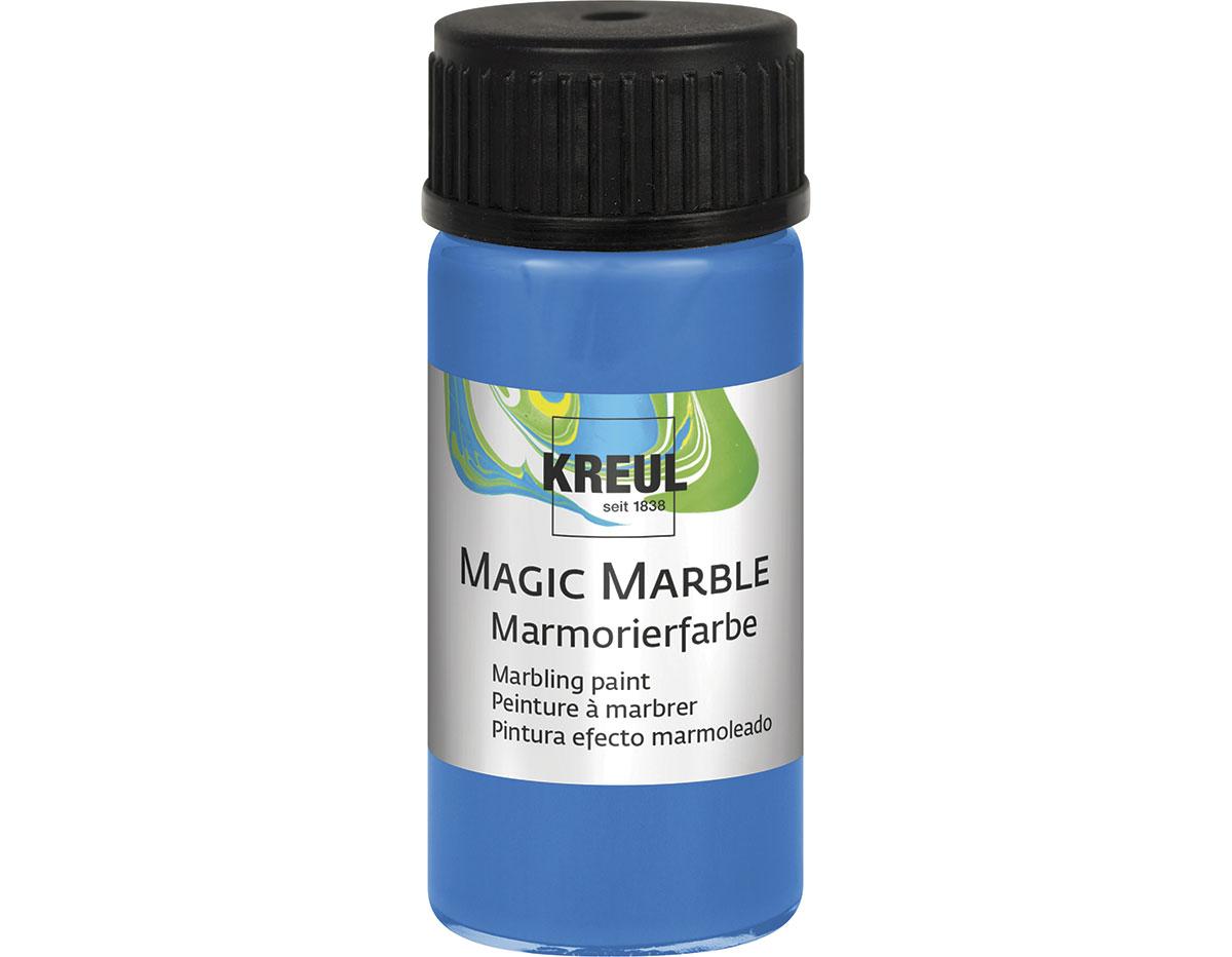 K73211 Pintura marmoleada MAGIC MARBLE azul Hobby line