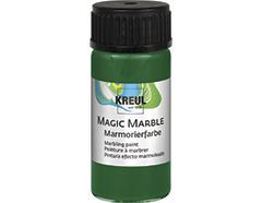 K73215 Pintura marmoleada MAGIC MARBLE verde Hobby line