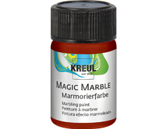 K73217 Pintura marmoleada MAGIC MARBLE marron Hobby line