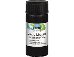 K73218 Pintura marmoleada MAGIC MARBLE negro Hobby line
