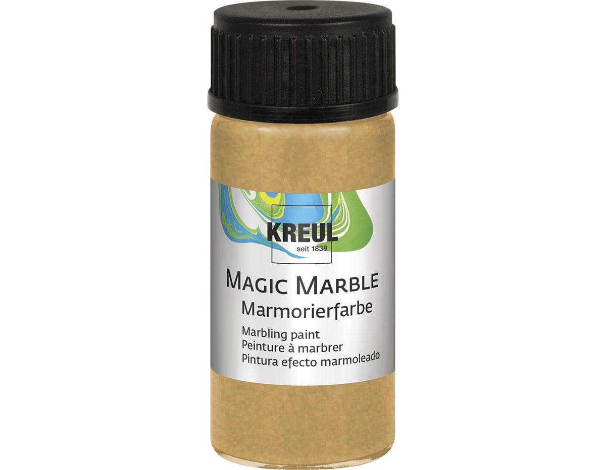K73220 Pintura marmoleada MAGIC MARBLE metalico oro Hobby line