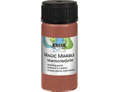 K73221 Pintura marmoleada MAGIC MARBLE metalico bronce Hobby line