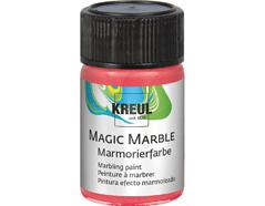 K73226 Pintura marmoleada MAGIC MARBLE metalico rojo Hobby line