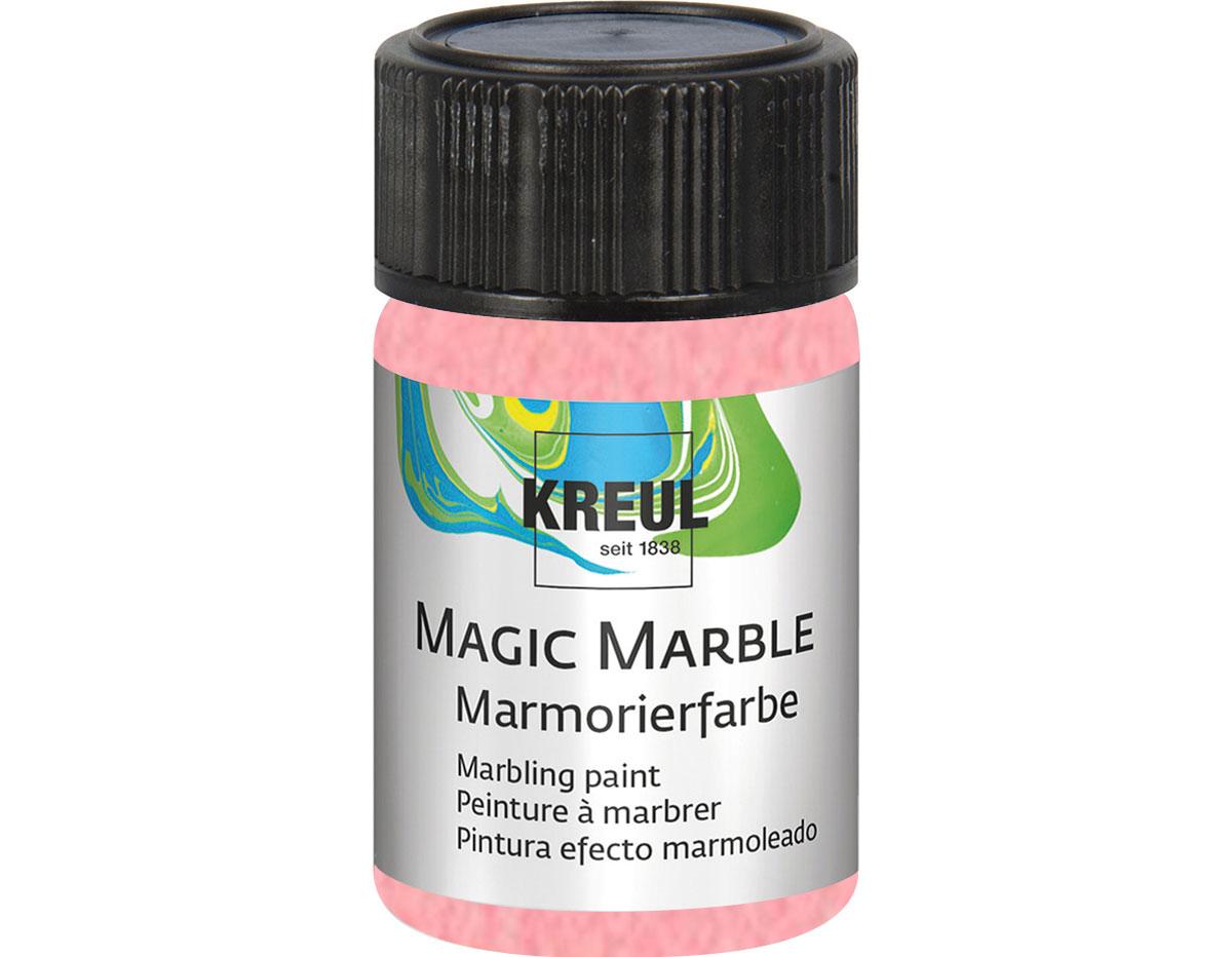 K73227 Pintura marmoleada MAGIC MARBLE metalico rosa Hobby line