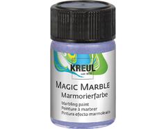 K73228 Pintura marmoleada MAGIC MARBLE metalico violeta Hobby line
