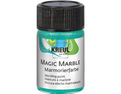 K73230 Pintura marmoleada MAGIC MARBLE metalico verde Hobby line