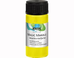 K73231 Pintura marmoleada MAGIC MARBLE amarillo neon Hobby line