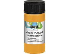 K73232 Pintura marmoleada MAGIC MARBLE naranja neon Hobby line