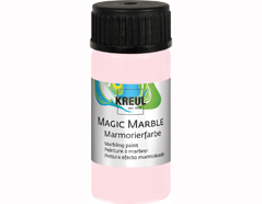 K73234 Pintura marmoleada MAGIC MARBLE mate rosa 20ml Hobby line