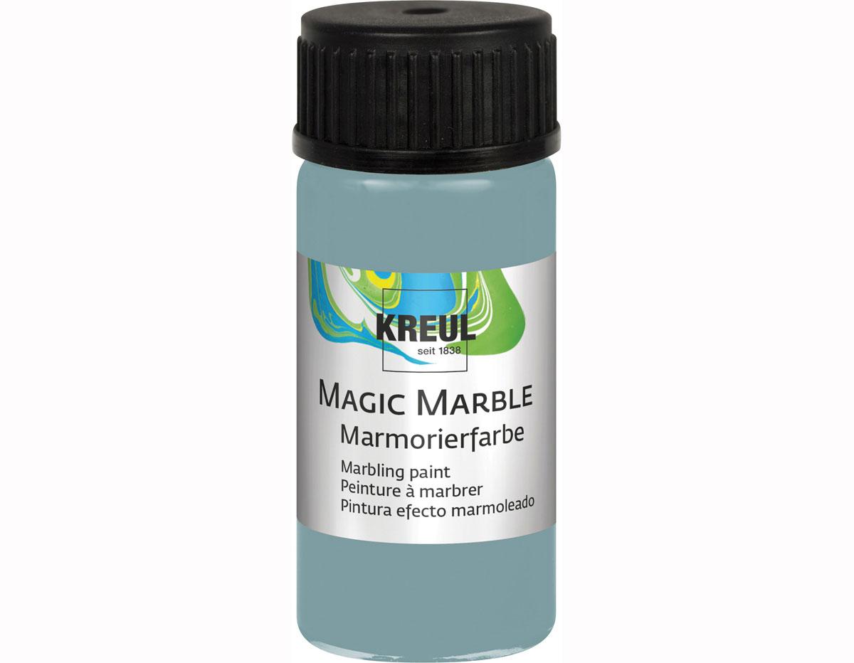 K73235 Pintura marmoleada MAGIC MARBLE mate azul petroleo 20ml Hobby line