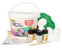 K73702 Kit pintura marmoleada MAGIC MARBLE Pascua magica Hobby line