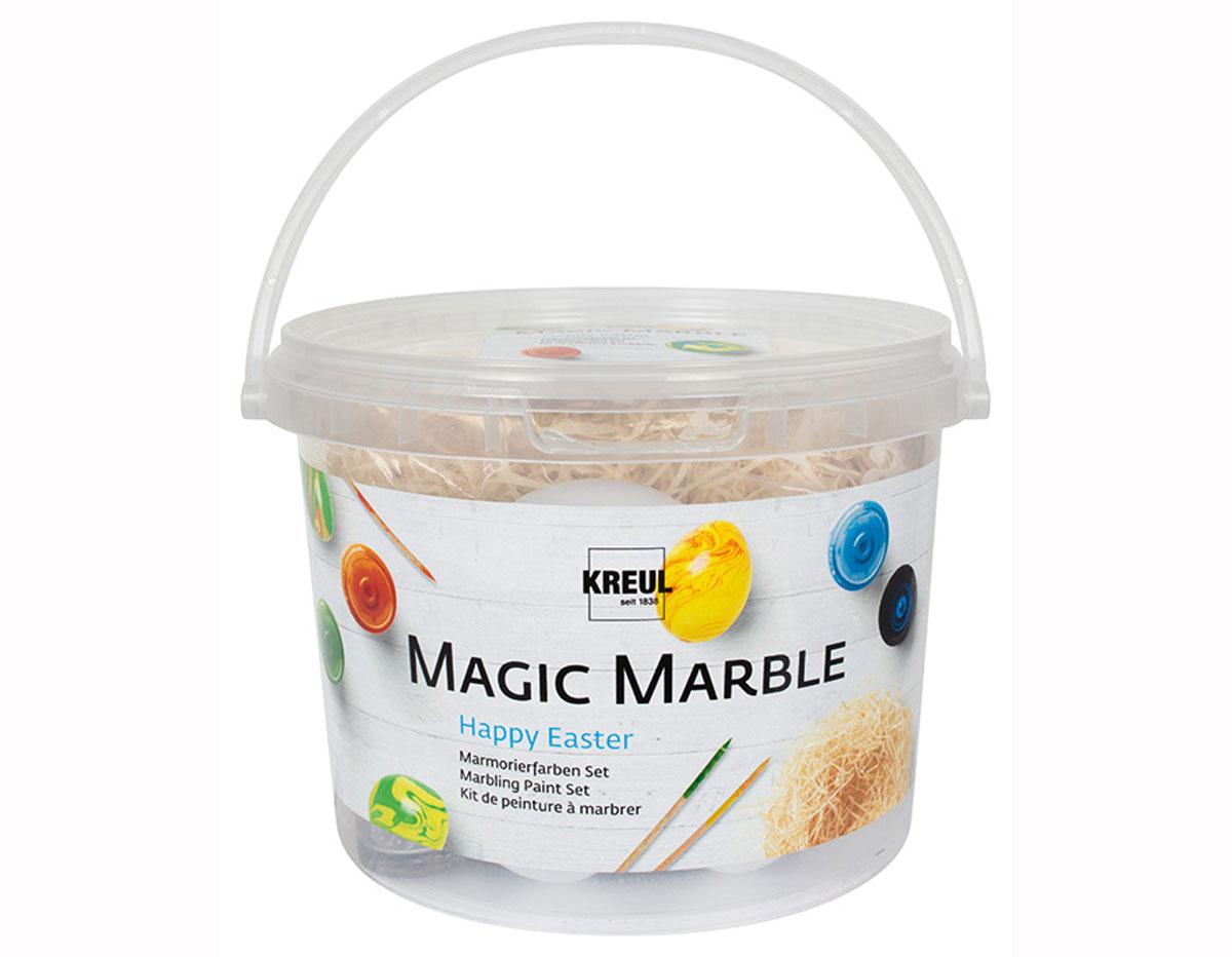 K73703 Kit pintura marmoleada Magic Marble Pascua Hobby line