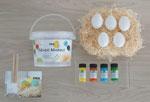 K73703 Kit pintura marmoleada Magic Marble Pascua Hobby line - Ítem1
