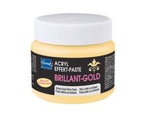 K74393 Pasta acrilica con efecto y efecto gel brilliant oro Home design